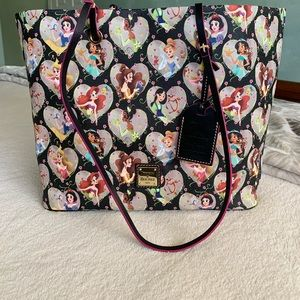 New Disney world Dooney And Bourke princess Tote